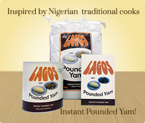 Lagos Agbe Instant Pounded Yam